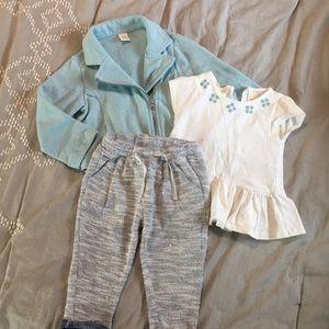 Adorable 3 piece toddler set